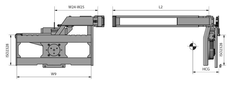 180° Kistendrehgerät Zeichnung RLW