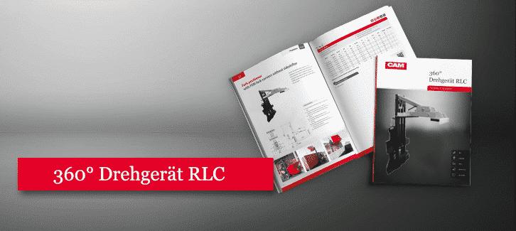 Toyota-Gabelstapler-360° Drehgerät für Behälter RLC Produkt Download