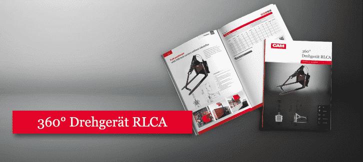 Toyota-Gabelstapler-360° Drehgerät für Behälter RLCA Produkt Download