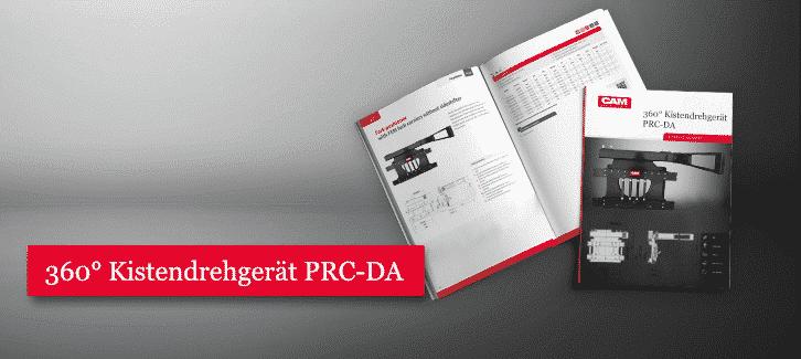 Toyota-Gabelstapler-360° Kistendrehgerät PRC DA Datanblatt Download
