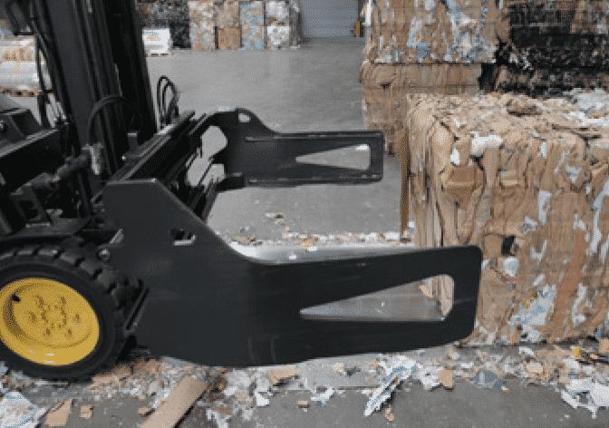 Toyota-Gabelstapler-Ballenklammer HB T Beispielbild 2