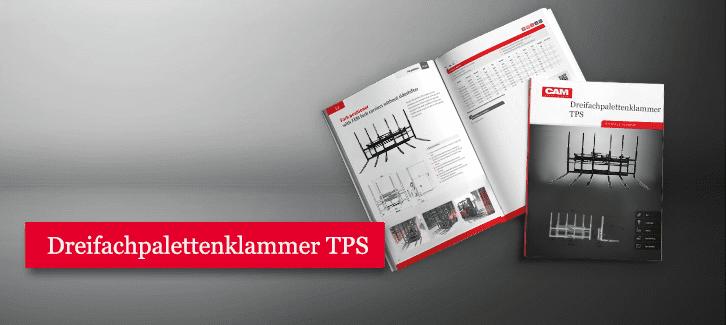 Toyota-Gabelstapler-Dreifachpalettenklammer TPS Produkt Download