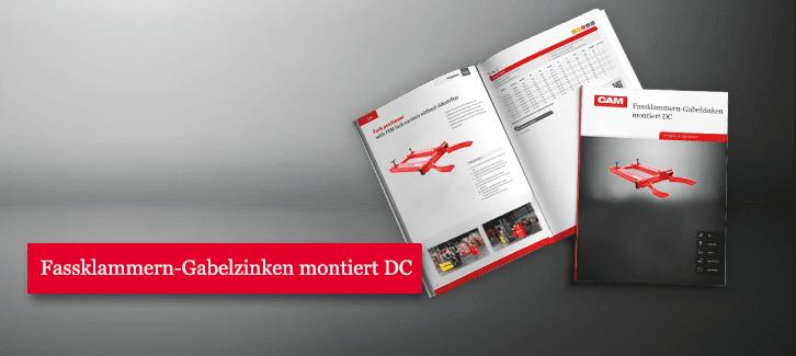 Toyota-Gabelstapler-Fassklammern Gabelzinken montiert DC Produkt Download