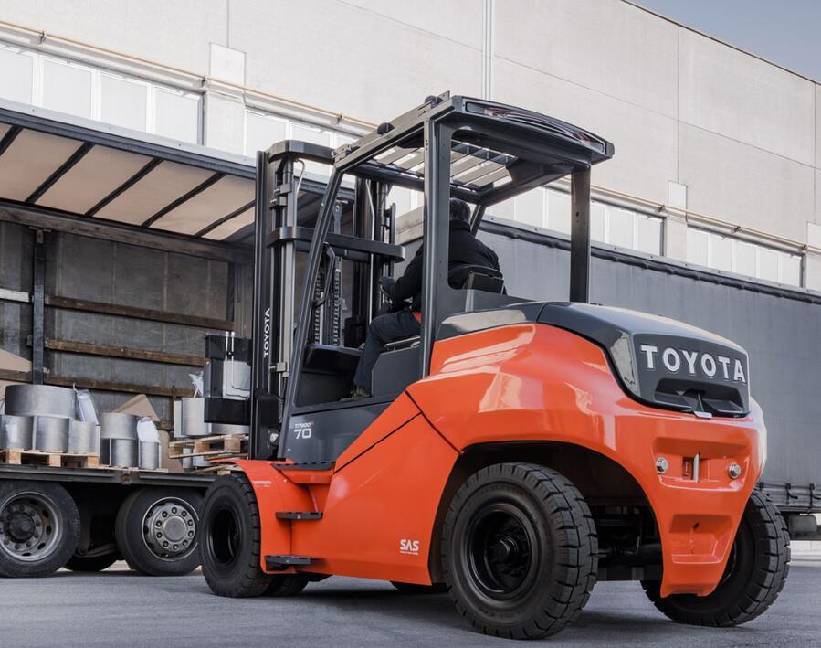 Toyota-Gabelstapler-ITL Gabelstapler Blog System fuer aktive Stabilitaet SAS 5