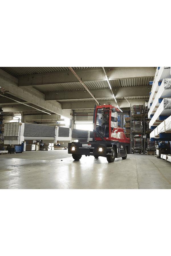 Toyota-Gabelstapler-ITL Gabelstapler Combilift Seitenstapler Vierrad Combi 4SWL lange Ware 2 Detailansicht