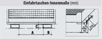 ITL Gabelstapler Saarland Arbeitskorb für Gabelstapler Einfahrtaschenmaß
