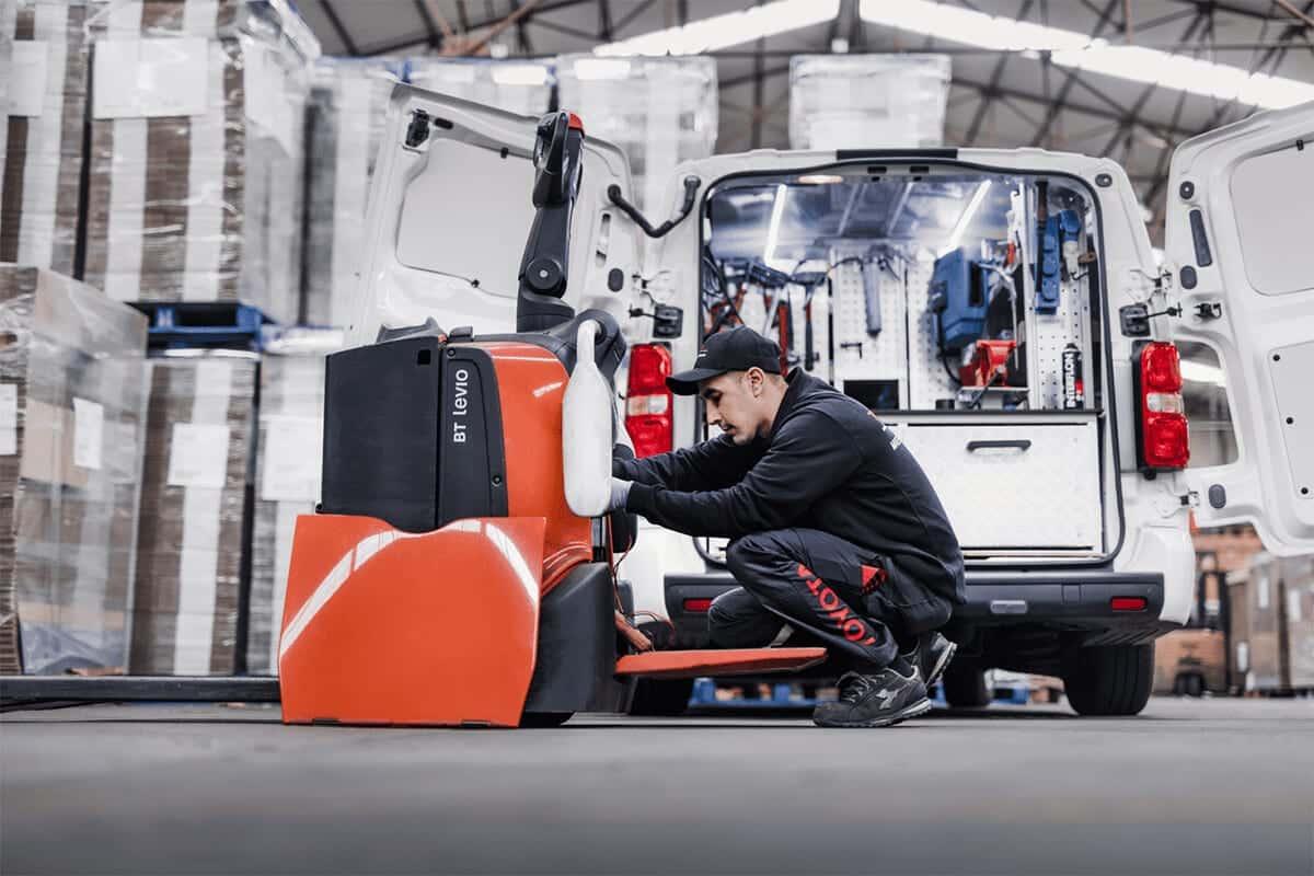 ITL Gabelstapler Saarland Technischer Service