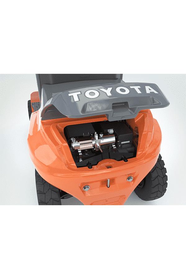 ITL Gabelstapler Saarland Toyota Elektrostapler
