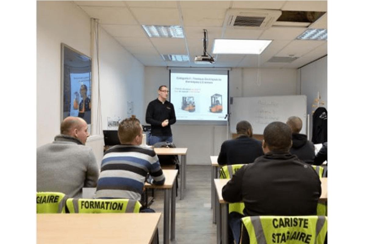 ITL Gabelstapler Saarland Toyota Fahrerschulung