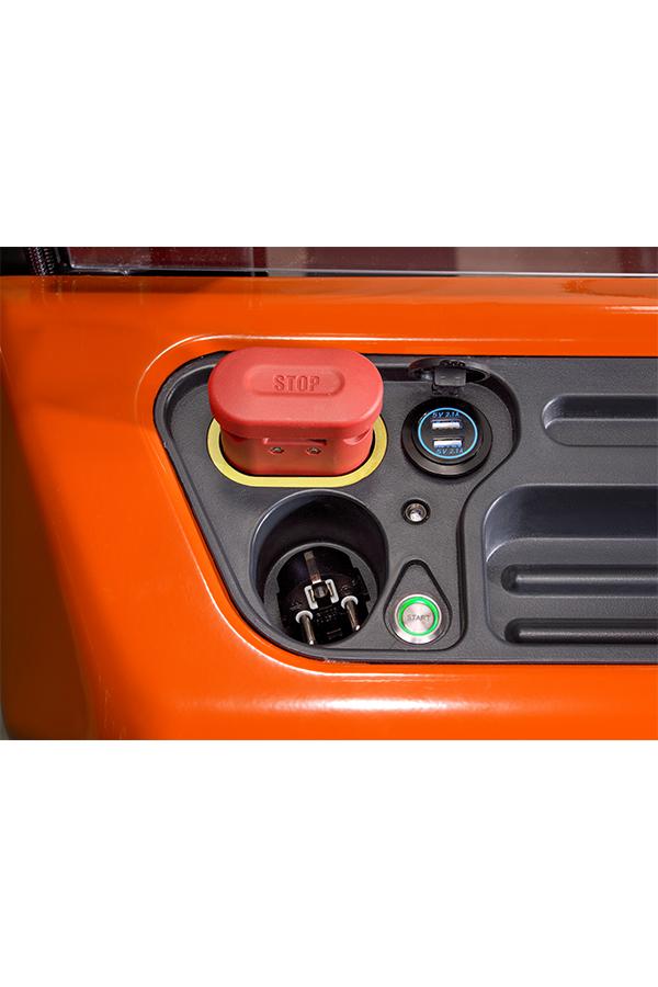 Toyota-Gabelstapler-ITL Gabelstapler Toyota Hochhubwagen SHE100 18