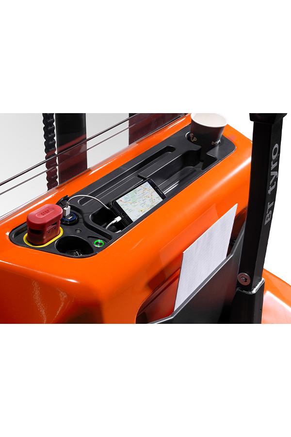 Toyota-Gabelstapler-ITL Gabelstapler Toyota Hochhubwagen SHE100 20