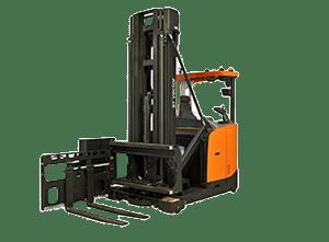 Toyota-Gabelstapler-ITL Gabelstapler Toyota Schmalgangstapler Vector R Miete Kauf Verwandte