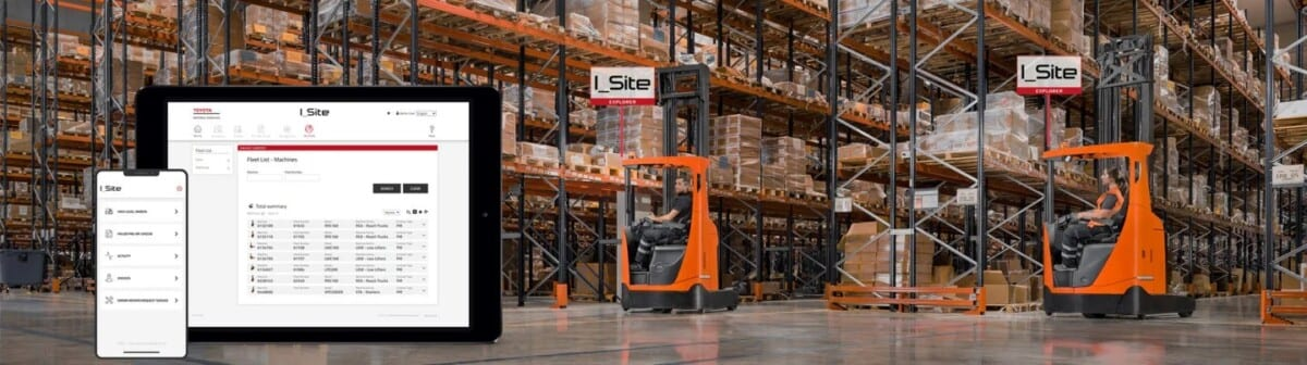 Toyota-Gabelstapler-ITL Lagertechnik Blog 5 Schritte Nachhaltige Logistik Intaogistik Bild 2