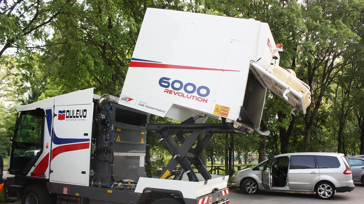 Toyota-Gabelstapler-ITL Lagertechnik Blog Dulevo Industire Kehrmaschine 6000 Revolution Kommunen Reinigung 3