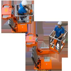 Toyota-Gabelstapler-ITL Lagertechnik Blog Elevah Arbeitsbuehne Hebebuehne 65 TB 2