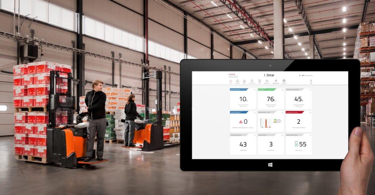 Toyota-Gabelstapler-ITL Lagertechnik Blog Toyota Smart Trucks vernetzte Gabelstapler Hubwagen Flurfoerderzeug besserer Service 2