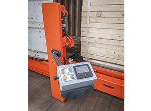 Toyota-Gabelstapler-ITL Lagertechnik Combilift CSS Container Beladung Detailansicht1