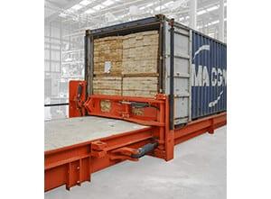 Toyota-Gabelstapler-ITL Lagertechnik Combilift CSS Container Beladung Detailansicht2