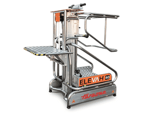 Toyota-Gabelstapler-ITL Lagertechnik Faraone Elevah 40 Move Picking Hebebühne Arbeitsbühne 11 Anfrage