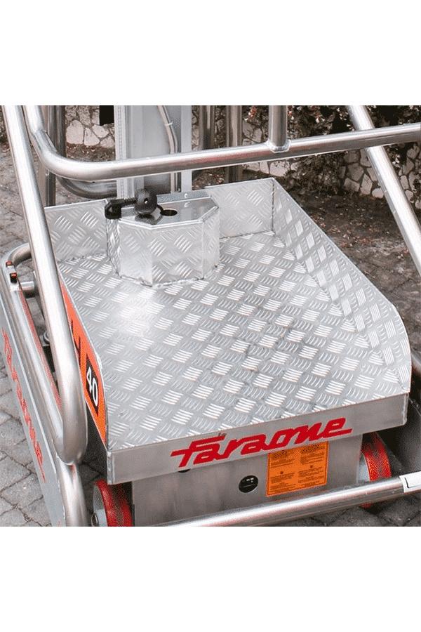 Toyota-Gabelstapler-ITL Lagertechnik Faraone Elevah 40B Move Pciking Hebebuehne Arbeitsbuehne 6 Detailansicht