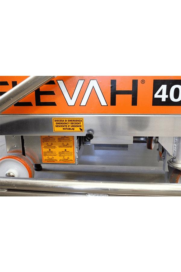 Toyota-Gabelstapler-ITL Lagertechnik Faraone Elevah 40B Move Pciking Hebebuehne Arbeitsbuehne 7 Detailansicht