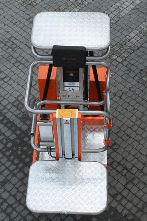 Toyota-Gabelstapler-ITL Lagertechnik Faraone Elevah 65 Move Picking Arbeitsbühne Hebebühne 6 Detailansicht