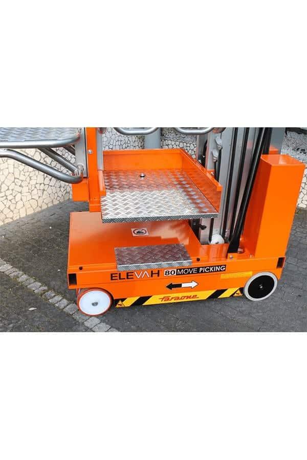 Toyota-Gabelstapler-ITL Lagertechnik Faraone Elevah 80 Move Picking 4 Detailansicht