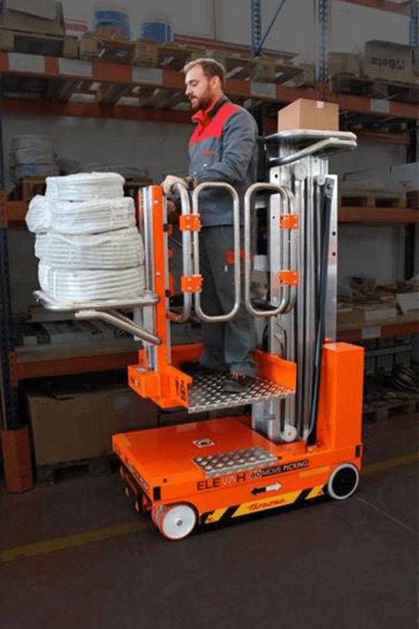 Toyota-Gabelstapler-ITL Lagertechnik Faraone Elevah 80 Move Picking 6 Detailansicht