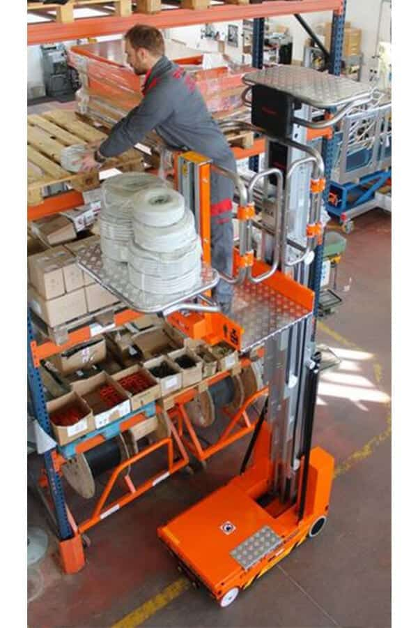 Toyota-Gabelstapler-ITL Lagertechnik Faraone Elevah 80 Move Picking 7 Detailansicht