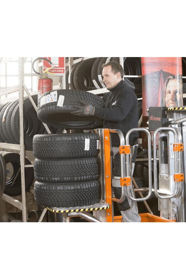 Toyota-Gabelstapler-ITL Lagertechnik Faraone Elevah 80 Move Picking 8 Detailansicht