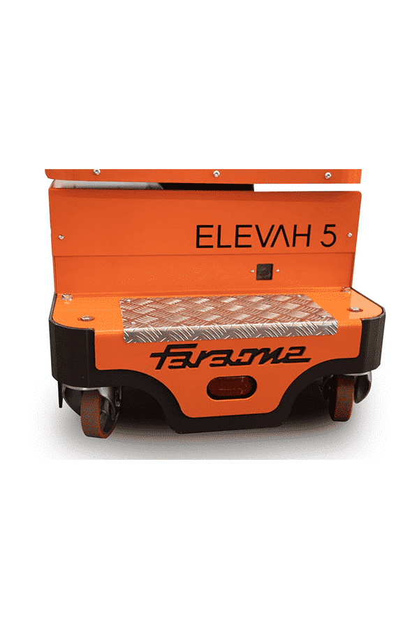 Toyota-Gabelstapler-ITL Lagertechnik Faraone Elevah Hebebuehne Arbeitsbuehne 5 Move 11 Detailansicht