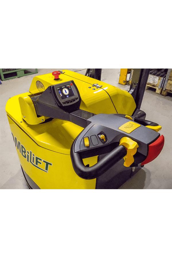 Toyota-Gabelstapler-ITL Transportmaschinen Combilift Combi CS Hochhubwagen 5 Detailansicht