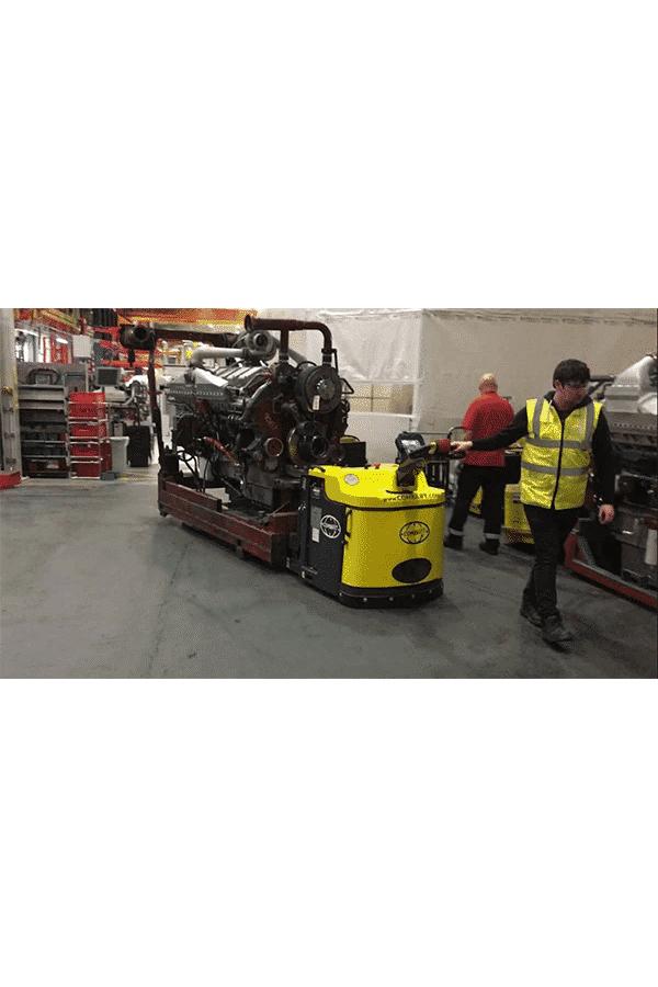 Toyota-Gabelstapler-ITL Transportmaschinen Combilift Combi PPT Schwerlast Hubwagen Niederhubwagen 8 Detailansicht