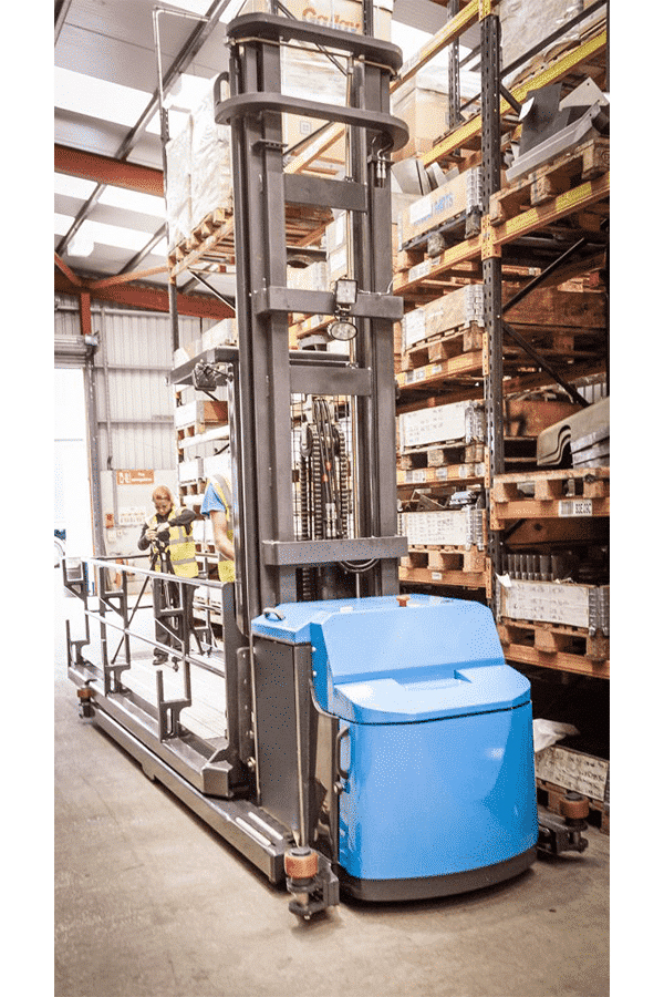 Toyota-Gabelstapler-ITL Transportmaschinen Combilift Gabelstapler Hubwagen lange Ware Combi OP 2 Detailansicht