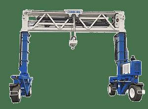 Toyota-Gabelstapler-ITL Transportmaschinen Combilift MG mobiler Kran 5 Miete Kauf transparent