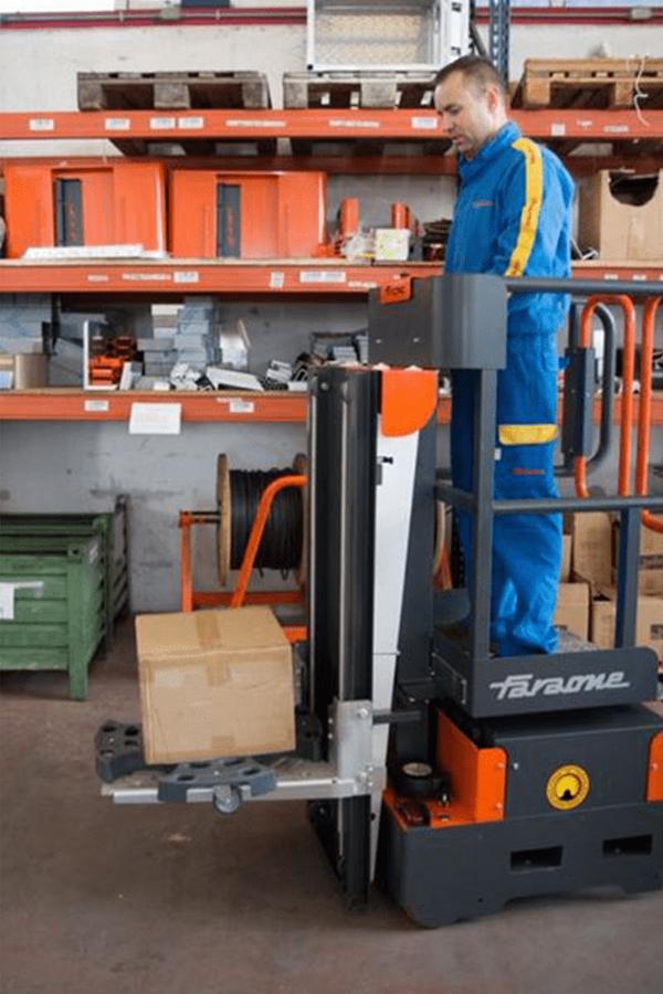 Toyota-Gabelstapler-ITL Transportmaschinen Faraone Elevah E5 Tires Autoreifen Einlagerung 8 Detailansicht