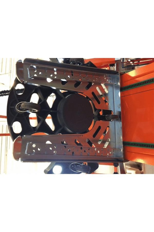 Toyota-Gabelstapler-ITL Transportmaschinen Faraone Elevevah Picking 75 Tires Reifen Kommissionierung Einlagerung 15 Detailansicht