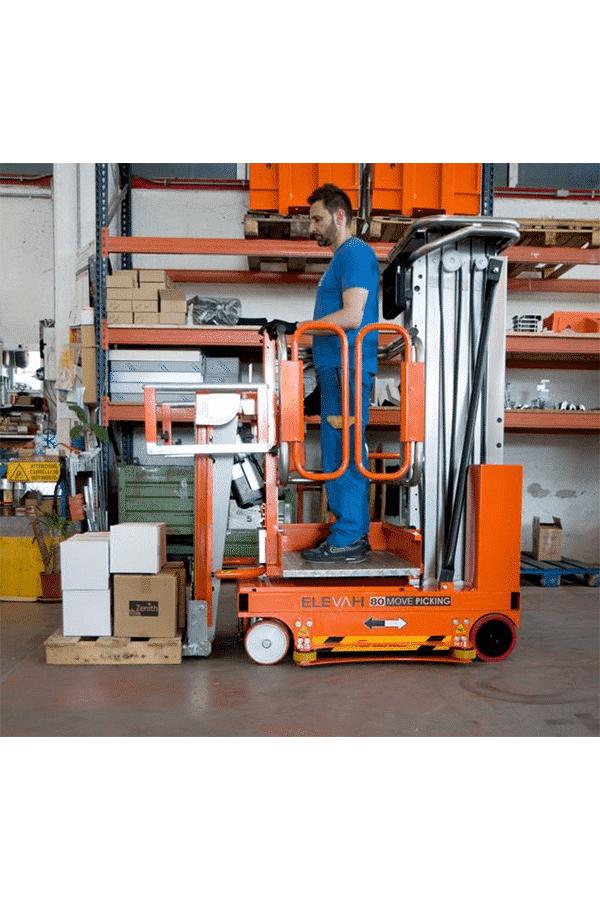 Toyota-Gabelstapler-ITL Transportmaschinen Faraone Elevevah Picking 75 Tires Reifen Kommissionierung Einlagerung 16 Detailansicht