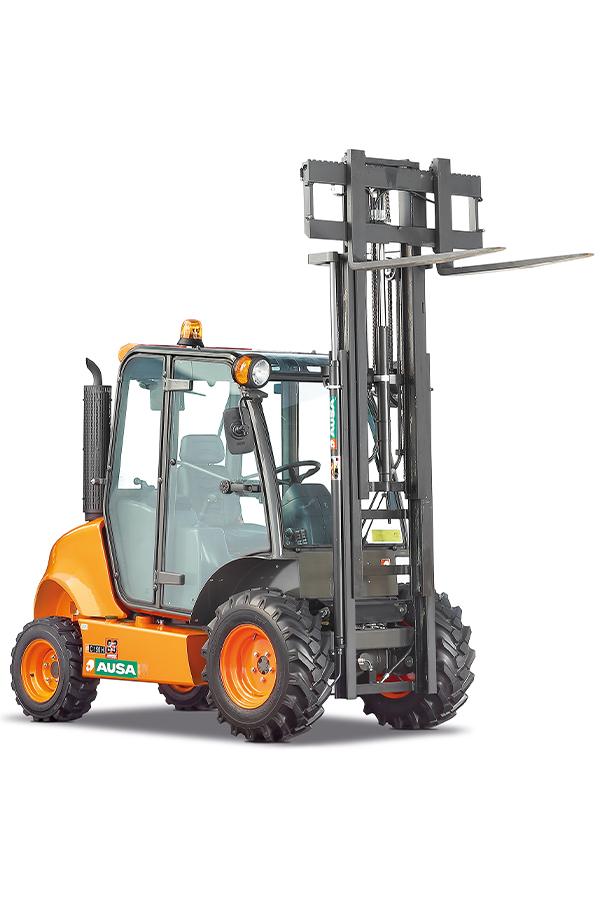 Toyota-Gabelstapler-ITL Transportmaschinen GmbH Ausa Gabelstapler C150H detail00