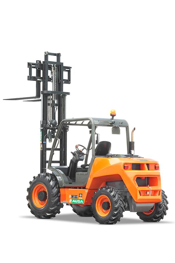 Toyota-Gabelstapler-ITL Transportmaschinen GmbH Ausa Gabelstapler C251H detail02