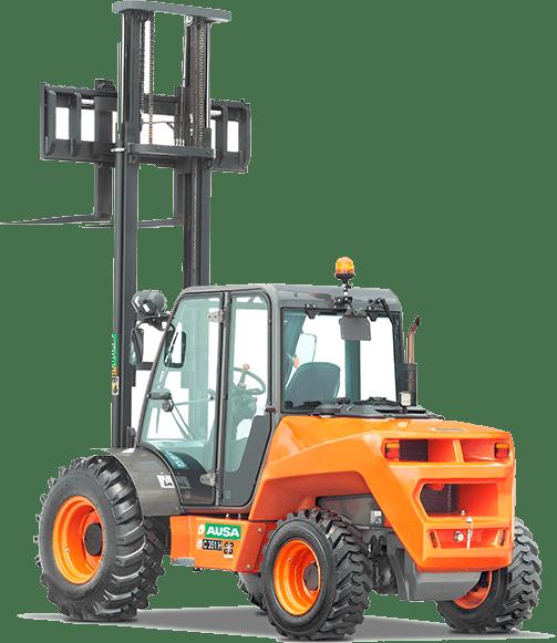 Toyota-Gabelstapler-ITL Transportmaschinen GmbH Ausa Gelaendestapler C351H icon