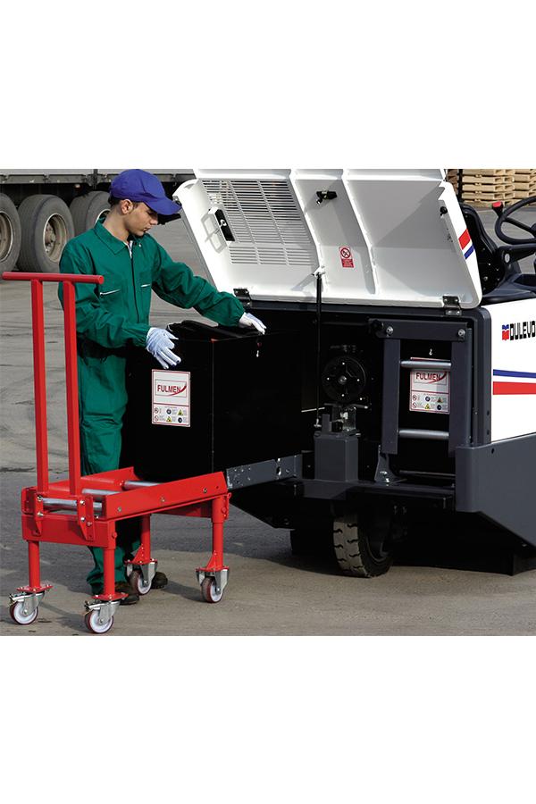 Toyota-Gabelstapler-ITL Transportmaschinen GmbH Toyota Gabelstapler Dulevo Kehrmaschine 1750 100 Elite 10