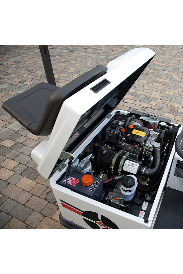 Toyota-Gabelstapler-ITL Transportmaschinen GmbH Toyota Gabelstapler Dulevo Kehrmaschine Futura 1100 06