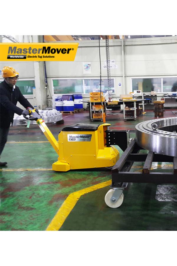 Toyota-Gabelstapler-ITL Transportmaschinen GmbH Toyota Gabelstapler MasterMover Elektroschlepper MT400 detail05