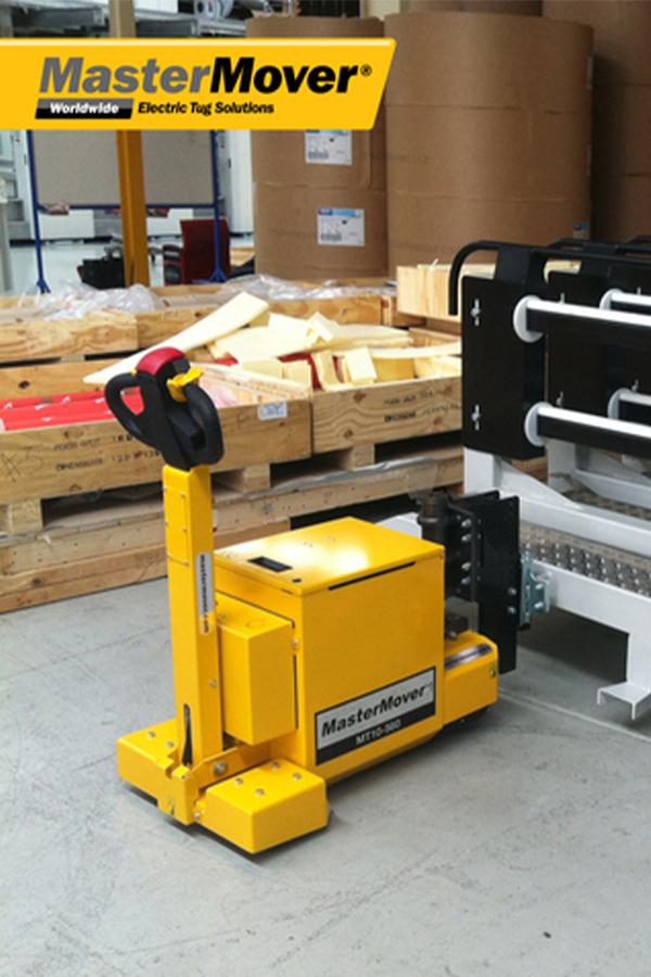 Toyota-Gabelstapler-ITL Transportmaschinen GmbH Toyota Gabelstapler MasterMover Elektroschlepper MT600detail06