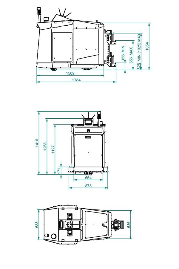 Toyota-Gabelstapler-ITL Transportmaschinen GmbH Toyota Gabelstapler MasterMover Elektroschlepper PS3000 detail09