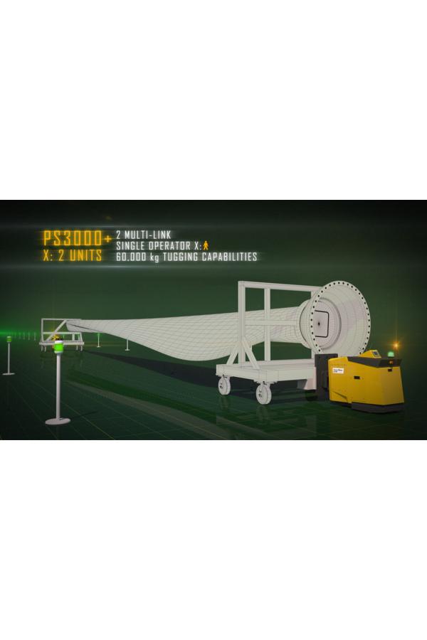 Toyota-Gabelstapler-ITL Transportmaschinen GmbH Toyota Gabelstapler MasterMover Elektroschlepper PS3000 detail10