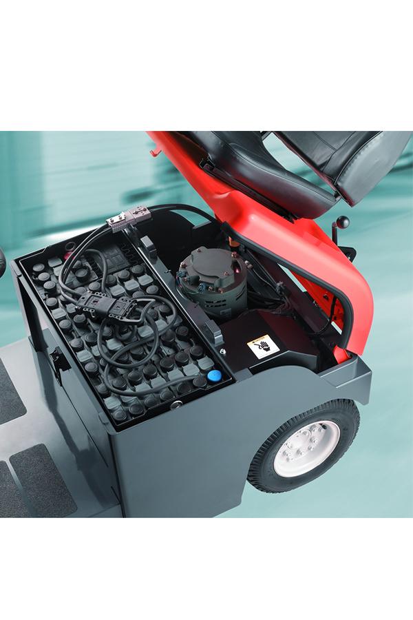 Toyota-Gabelstapler-ITL Transportmaschinen GmbH Toyota Gabelstapler Schlepper Tracto 4CBT 6107