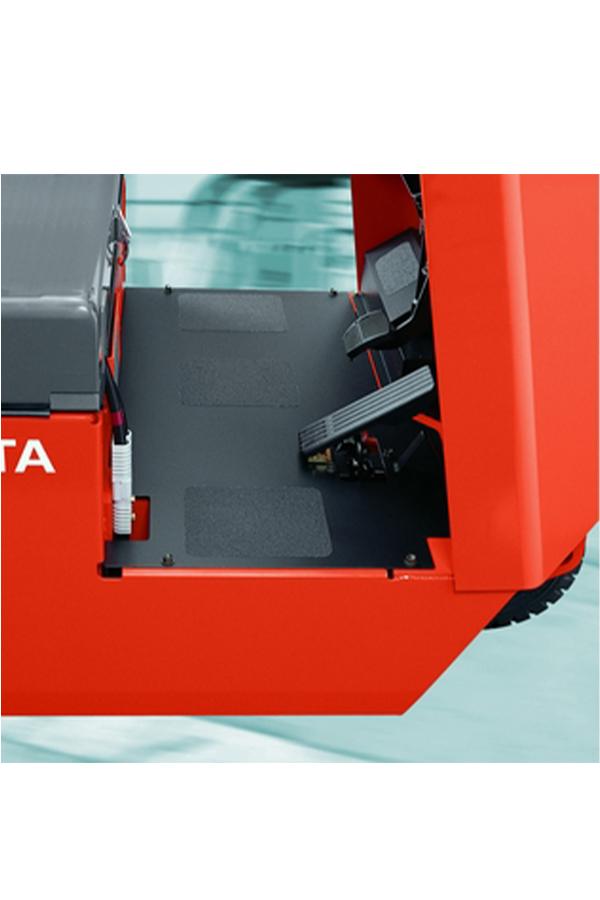 Toyota-Gabelstapler-ITL Transportmaschinen GmbH Toyota Gabelstapler Schlepper Tracto CBT 6099
