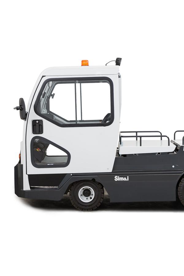 Toyota-Gabelstapler-ITL Transportmaschinen GmbH Toyota Gabelstapler Simai Elektroschlepper TE152 16911